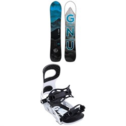 GNU Antigravity C3 Snowboard ​+ Bent Metal Joint Snowboard Bindings