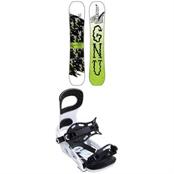 GNU Money C2E Snowboard ​+ Bent Metal Joint Snowboard Bindings 2020