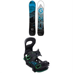GNU Antigravity C3 Snowboard ​+ Bent Metal Transfer Snowboard Bindings 2020