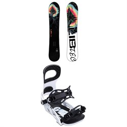 Lib Tech Dynamo C3 Snowboard ​+ Bent Metal Joint Snowboard Bindings 2020