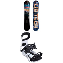 Lib Tech Box Scratcher BTX Snowboard ​+ Bent Metal Joint Snowboard Bindings 2020