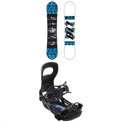 Lib Tech Skate Banana BTX Snowboard ​+ Bent Metal Joint Snowboard Bindings 2020