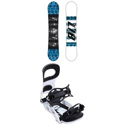 Lib Tech Skate Banana BTX Snowboard ​+ Bent Metal Joint Snowboard Bindings