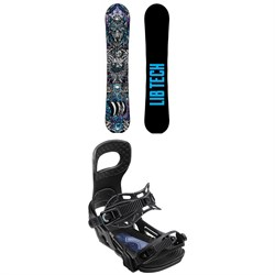 Lib Tech Terrain Wrecker C2X Snowboard ​+ Bent Metal Joint Snowboard Bindings 2020