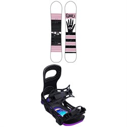 GNU Gloss C2 Snowboard - Women's ​+ Bent Metal Metta Snowboard Bindings - Women's 2020