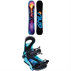 GNU B-Pro C3 Snowboard - Women's + Bent Metal Upshot Snowboard Bindings - Women's 2020