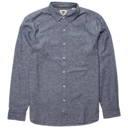 Vissla Coastlands Chambray Long-Sleeve Shirt