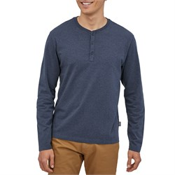Patagonia Long-Sleeve Organic Cotton Lightweight Henley Shirt