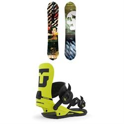 CAPiTA Ultrafear Snowboard + Union Strata Snowboard Bindings 2020