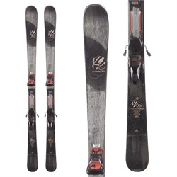 K2 LUV Machine 74 Ti Skis ​+ ERC 11 TCx Ski Bindings - Women's  - Used