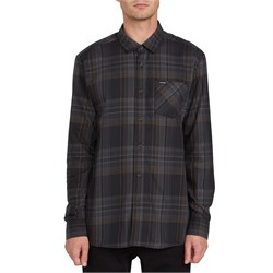 Volcom Bassment Flannel Long-Sleeve Shirt