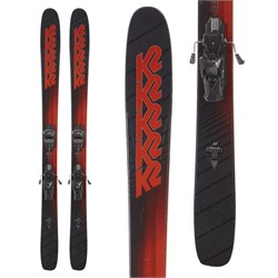 K2 Pinnacle 105 Skis + Tyrolia Attack² 13 AT Demo Bindings  - Used