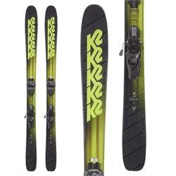 K2 Pinnacle 95 skis + Tyrolia Attack² 13 AT Demo Bindings  - Used
