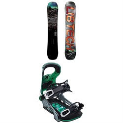 Lib Tech Box Knife C3 Snowboard ​+ Bent Metal Logic Snowboard Bindings 2020