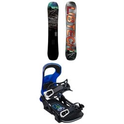 Lib Tech Box Knife C3 Snowboard ​+ Bent Metal Logic Snowboard Bindings