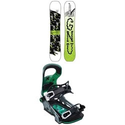 GNU Money C2E Snowboard ​+ Bent Metal Logic Snowboard Bindings