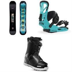 CAPiTA Horrorscope Snowboard + Union Flite Pro Snowboard Bindings + thirtytwo STW Boa Snowboard Boots 2020