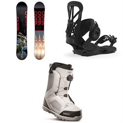 CAPiTA Outerspace Living Snowboard ​+ Union Flite Pro Snowboard Bindings ​+ thirtytwo STW Boa Snowboard Boots 2020