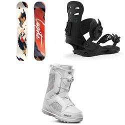 CAPiTA Space Metal Fantasy Snowboard - Women's + Union Rosa Snowboard Bindings - Women's + thirtytwo STW Boa Snowboard Boots - Women's 2020