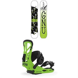 GNU Money C2E Snowboard ​+ Union Flite Pro Snowboard Bindings 2020