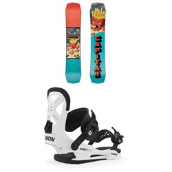 CAPiTA Children Of The Gnar Snowboard - Boys' ​+ Union Cadet Pro Snowboard Bindings - Kids' 2020