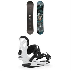 CAPiTA Scott Stevens Mini Snowboard - Boys' ​+ Union Cadet Pro Snowboard Bindings - Kids' 2020