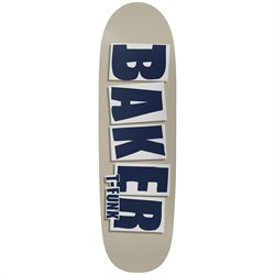 Baker TF Brand Name Taupe 9.25 Skateboard Deck