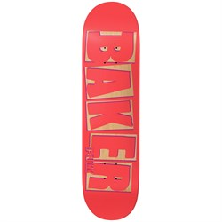 Baker TF Brand Name Punch Out 8.3875 Skateboard Deck