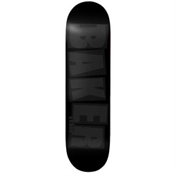 Baker TP Brand Name Black Tonal 8.0 Skateboard Deck