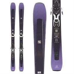 Salomon Aira 84 Ti Skis + Warden 11 Demo Bindings - Women's  - Used