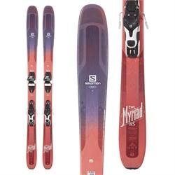 Salomon QST Myriad 85 Skis + Warden 11 Bindings - Women's  - Used