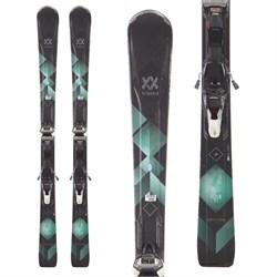 Volkl Flair 81 Skis + iPT WideRide XL 11 TCx Bindings - Women's  - Used