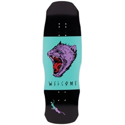 Welcome Tasmanian Angel on Dark Lord 9.75 Skateboard Deck