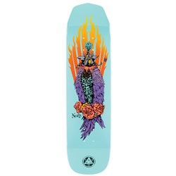 Welcome Peregrine on Wicked Princess Teal 8.125 Skateboard Deck