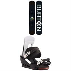 Burton Instigator Snowboard + Burton Freestyle Snowboard Bindings 2020