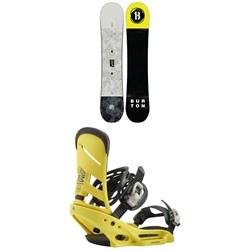 Burton Descendant Snowboard + Burton Mission EST Snowboard Bindings 2020