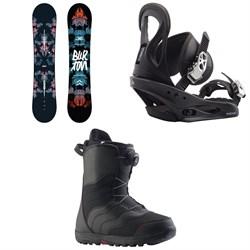Burton Stylus Snowboard - Women's + Citizen Snowboard Bindings - Women's + Mint Boa Snowboard Boots - Women's 2020