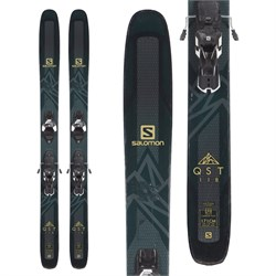 Salomon QST 118 Skis ​+ Warden 13 Demo Bindings  - Used