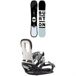 Burton Custom Snowboard + Burton Cartel EST Snowboard Bindings 2020