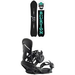 Burton Kilroy Directional Snowboard + Burton Mission EST Snowboard Bindings 2020