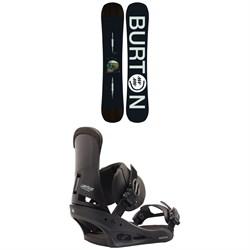 Burton Instigator Snowboard + Burton Custom Snowboard Bindings