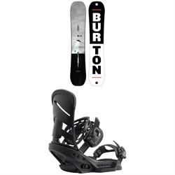 Burton Process Snowboard + Burton Mission EST Snowboard Bindings 2020