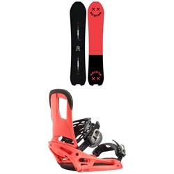 Burton Skeleton Key Snowboard + Burton Cartel EST Snowboard Bindings 2020