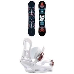 Burton Stylus Snowboard + Stiletto Snowboard Bindings - Women's