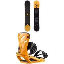 Salomon Sight Snowboard + Salomon Rhythm Snowboard Bindings 2020