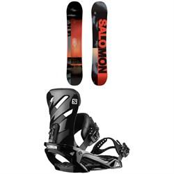 Salomon Pulse Snowboard + Salomon Rhythm Snowboard Bindings 2020