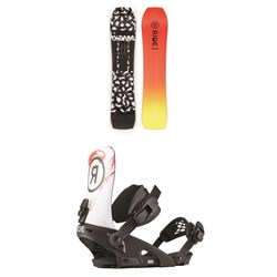 Ride Warpig Snowboard + Ride LTD Snowboard Bindings 2020