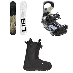 Lib Tech Skate Banana BTX Snowboard  + Bent Metal Logic Snowboard Bindings  + Burton Moto Boa R Snowboard Boots 2018