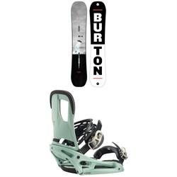 Burton Process Snowboard + Burton Cartel EST Snowboard Bindings 2020