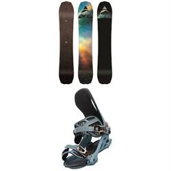 Arbor Bryan Iguchi Pro Camber Snowboard + Arbor Cypress Snowboard Bindings 2020